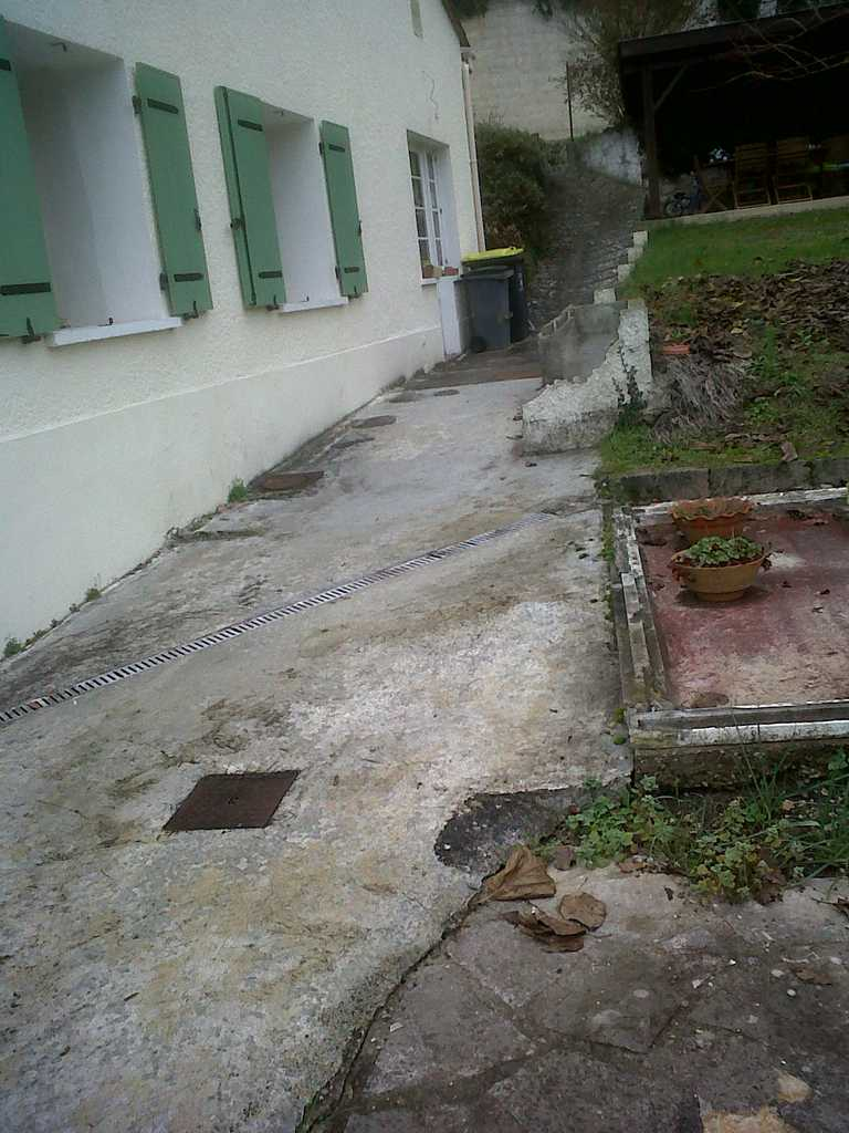 Terrasse pavée en espalier-03